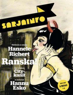 Sarjainfo 1/2010 - Hannele Richertin kansikuva